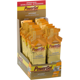 PowerBar PowerGel Hydro Sport Ernæring Orange 24 x 67ml